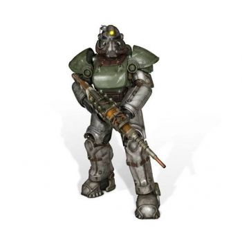 Fallout 4 statuette 1/1 T-51b Power Armor 213 cm