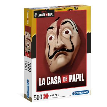 La casa de papel puzzle Masque (500 pièces)