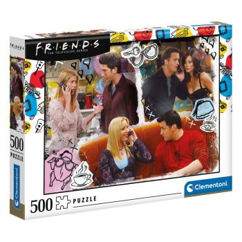 Friends puzzle On The Phone (500 pièces)