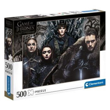 Game of Thrones puzzle House Stark (500 pièces)