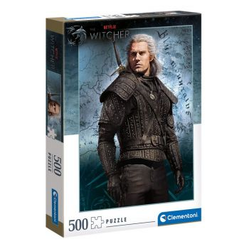 The Witcher puzzle Geralt of Rivia (500 pièces)