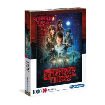 Stranger Things Puzzle Season 1 --- EMBALLAGE ENDOMMAGE