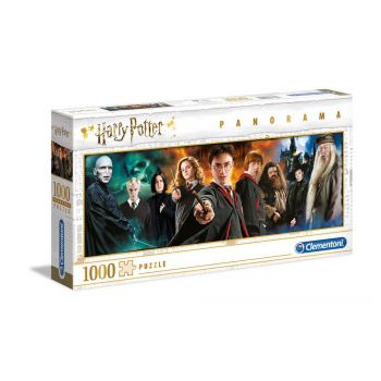 Harry Potter Puzzle Panorama Characters --- EMBALLAGE ENDOMMAGE