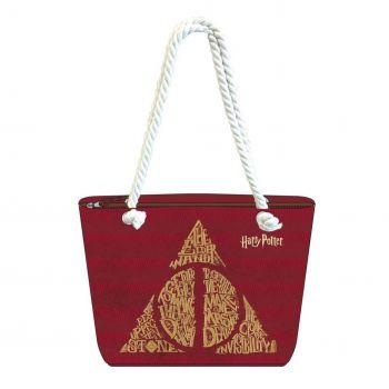 Harry Potter sac de plage Deathly Hallows
