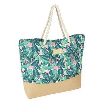 Minnie Mouse sac de plage Tropical