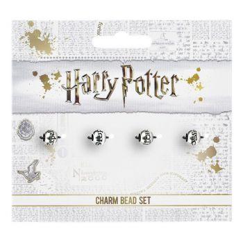 Harry Potter pack 4 breloques plaquées argent Sorts