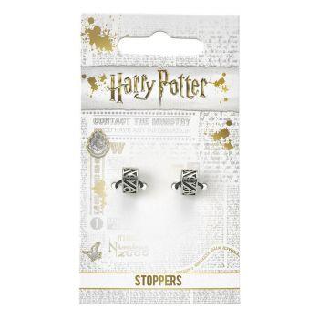 Harry Potter pack 2 breloques plaquées argent Reliques de la Mort