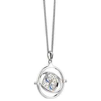 Harry Potter x Swarovski pendentif et collier Retourneur de Temps (argent sterling)