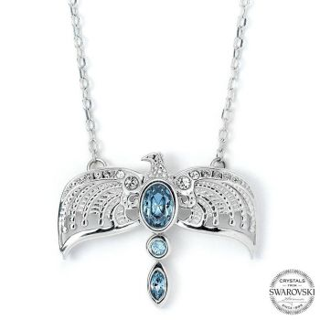 Harry Potter x Swarovski pendentif et collier Diadème (argent sterling)
