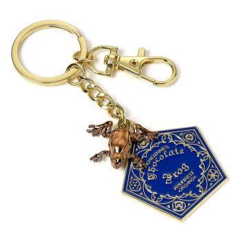 Harry Potter porte-clés Chocogrenouille (plaqué or)