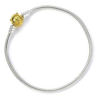 Harry Potter bracelet slider Vif d'or 19 cm (argent sterling)