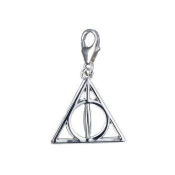 Harry Potter charm argent Clip-On Reliques de la Mort (argent sterling)