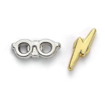 Harry Potter boucles d'oreille Éclair & lunettes