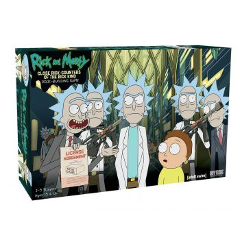 Rick et Morty jeu de cartes Deck-Building Close Rick-Counters of the Rick Kind *ANGLAIS*