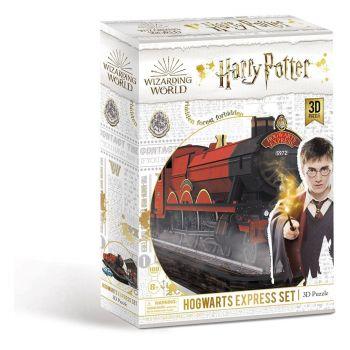 Harry Potter puzzle 3D set Poudlard Express (180 pièces)