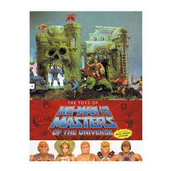 Les Maîtres de l'Univers art book The Toys of He-Man and The Masters of the Universe *ANGLAIS*