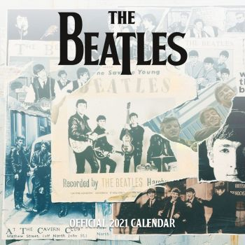The Beatles calendrier 2021 *ANGLAIS*