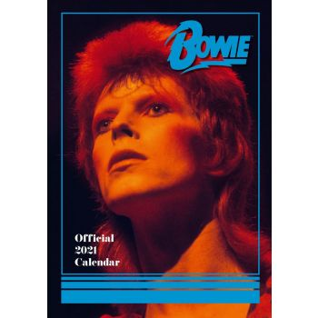 David Bowie calendrier A3 2021 *ANGLAIS*