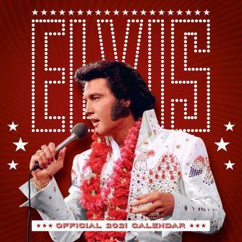 Elvis Presley calendrier 2021 *ANGLAIS*