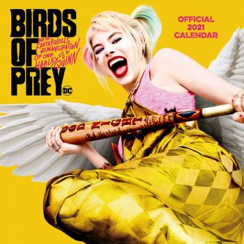 Birds of Prey calendrier 2021 *ANGLAIS*