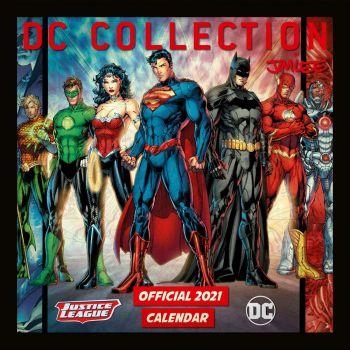 DC Comics calendrier 2021 *ANGLAIS*