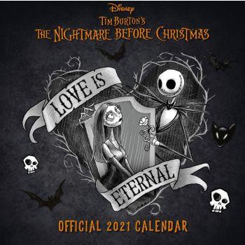 L' Etrange Noël de Mr. Jack calendrier 2021 *ANGLAIS*