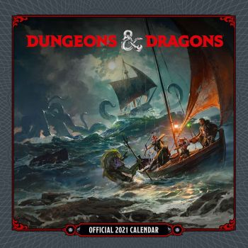 Dungeon & Dragons calendrier 2021 *ANGLAIS*