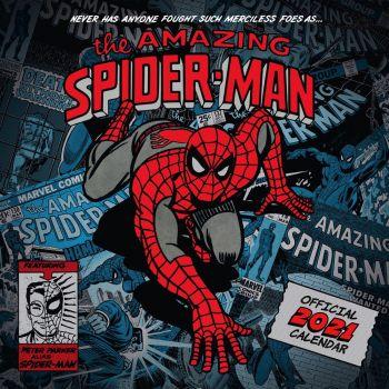 Spider-Man calendrier 2021 *ANGLAIS*