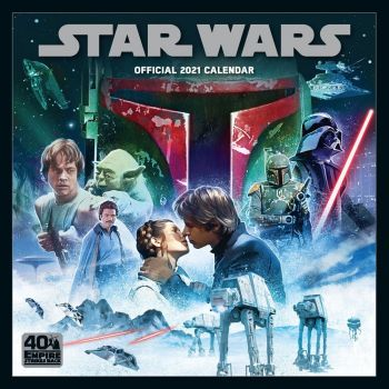 Star Wars Classic calendrier 2021 *ANGLAIS*