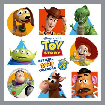 Toy Story calendrier 2021 *ANGLAIS*