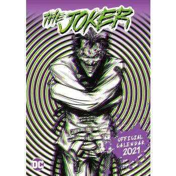 The Joker calendrier A3 2021 *ANGLAIS*