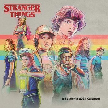 Stranger Things calendrier 2021 *ANGLAIS*