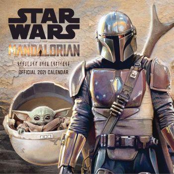 Star Wars The Mandalorian calendrier 2021 *ANGLAIS*