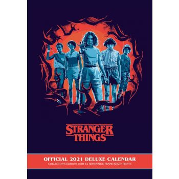 Stranger Things calendrier Deluxe A3 2019 *ANGLAIS*