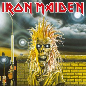 Iron Maiden tableau toile encadré First Album 40 x 40 cm