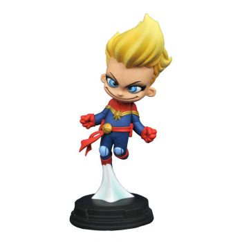 Marvel Animated statuette Captain Marvel 10 cm --- EMBALLAGE ENDOMMAGE