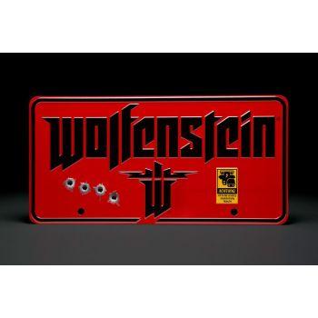 Wolfenstein panneau métal The New Colossus