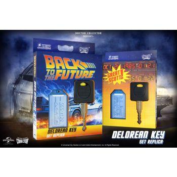 Retour vers le Futur réplique 1/1 clé de voiture DeLorean
