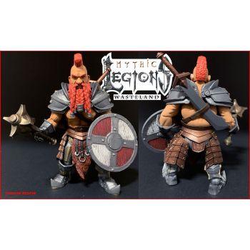 Mythic Legions: Wasteland figurine Torgun Redfin 15 cm