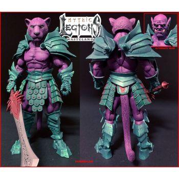Mythic Legions: Wasteland figurine Purrrplor 15 cm