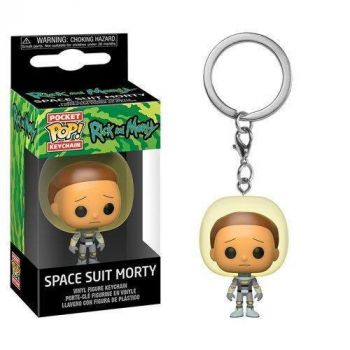 Rick & Morty porte-clés Pocket POP! Vinyl Space Suit Morty 4 cm