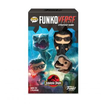 Jurassic Park Funkoverse extension jeu de plateau Expandolone *ANGLAIS*