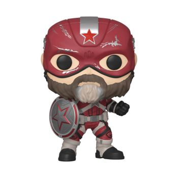 Black Widow POP! Marvel Vinyl figurine Red Guardian 9 cm - Emballage endommagé