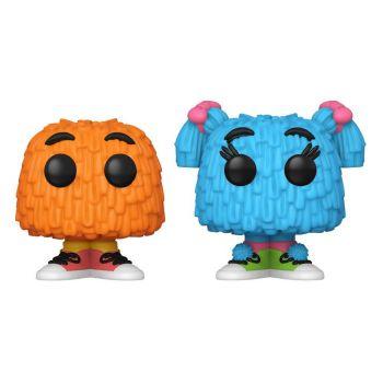 McDonald's pack 2 POP! Ad Icons Vinyl figurines Fry Guy (Orange/Blue Pigtails) 5 cm