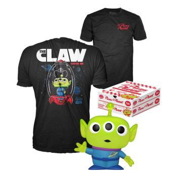 Toy Story POP! & Tee set figurine et T-Shirt Alien