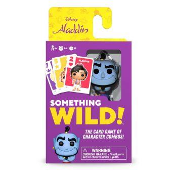 Aladdin carton de 4 jeux de cartes Something Wild! *ANGLAIS*