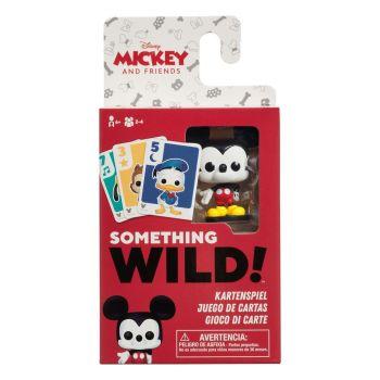 Mickey and Friends carton de 4 jeux de cartes Something Wild! *DE/ES/IT*