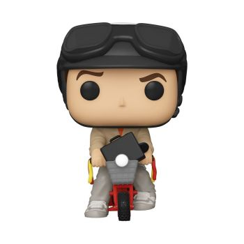 Dumb and Dumber POP! Rides Vinyl figurine Lloyd Christmas on Bicycle 18 cm