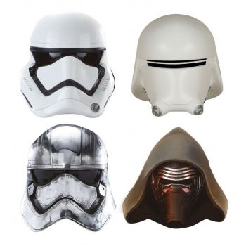 Star Wars pack aimants Captain Phasma, Kylo Ren, Stormtrooper, Snowtrooper