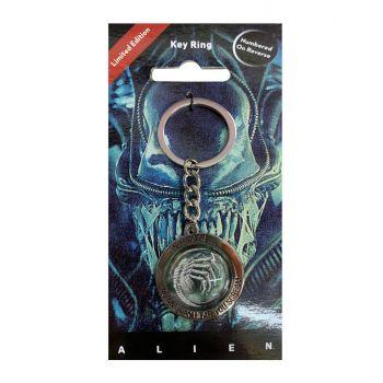 Alien porte-clés métal In Space No One Can Hear You Scream